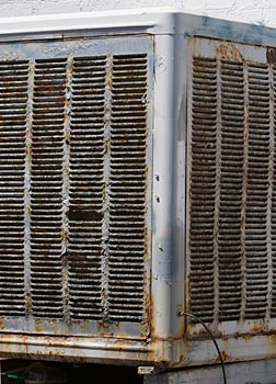 Evaporative-Rusted-Cooler